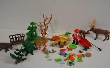 68 ) Playmobil viele Teile Baum Boot Weihnachtsmann Tiere ua.