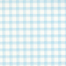 G45104 - Tiny Tots Wallpaper, Baby Gingham, blue & white
