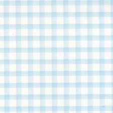 g45104 - Minuscule Tots pour enfants Papier peint bébé vichy bleu & Blanc