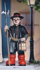 """Grosser Gilde Clown - Der Nachtwächter - Handbemalte Sammlerfigur """"14 cm"""" 10191"""