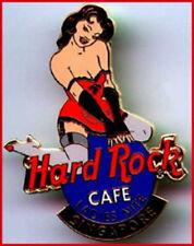 Hard Rock Cafe SINGAPORE 2001 Sexy Porn LADIES NITE PIN Super HOT Girl HRC Logo!