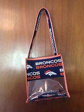 Denver Bronco Clear Stadium Bag