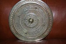 Chinese Genuine Bronze Mirror, Western Han Dynasty, 8-inch, 206 BC - AD 9