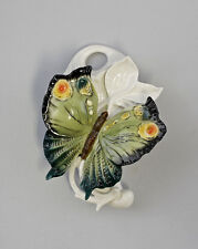 Porzellan Wandvase Schmetterling grün Ens H16cm 9941285