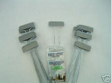 """50 ZINC (Silver)  PLANT MARKERS 10"""" Tall FREE SEEDS  AMERICAN MADE 40% THICKER!!"""