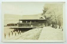 Vintage Real Photo Postcard - Aquatic Club, Penticton, B.C. c. 1930-40's