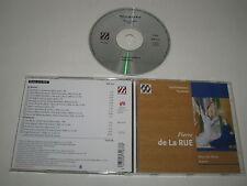 PIERRE DE LA RUE/MISSA AVE MARIA VESPERA(MUSIQUE EN WALLONIE/MEW 0633)CD ÁLBUM