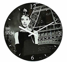 Horloges murales analogiques affichage 12 heures pour la chambre à coucher