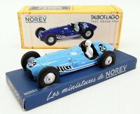 Norev 1/43 Scale CL5811 - 1949 F1 Talbot Logo T26C - #24 Louis Rosier