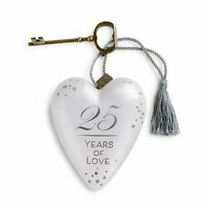 DEMDACO 1003480106 Art Heart 25 Years of Love Art Heart