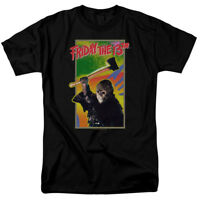 Friday The 13th Retro 1989 Nintendo Game Officially Licensed Adult T-Shirt