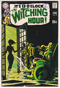 Witching Hour #10 Fine Plus 6.5 DC Horror Alex Toth Art 1970