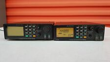 Lot of 2  Icom IC-R100 HF / UHF / VHF Radio Communications Receiver UNBLOCKED