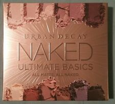 URBAN DECAY Naked Ultimate Basics Palette Eyeshadow Palette All Matte NIB