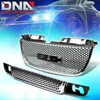 """Chrome Plated Mesh Grill Grille cover lower bumper hood upper Diamond 16/""""x48/"""""""