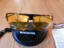 Winchester Shooting Glasses, 3 lens set, metal frames, with carrying case