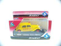 solido Sixties n° 4554 Citroën Traction 15 CV Cirque PINDER neuf 1/43 MIB