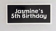 10 - 400 Personalised birthday party stencils for glitter tattoos / airbrush