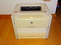 HP LaserJet 1160 Schwarz/Weiß Laserdrucker, voll funktionsfähig, 2J. Garantie