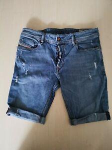DIESEL Jeans Short Jeansshort Größe 32 Denim Regular