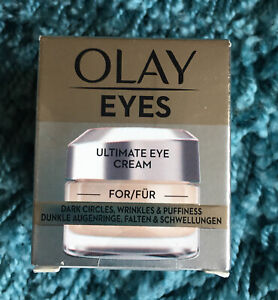 Olay Eyes Ultimate Eye Cream For Dark Circles, Wrinkles & Puffiness. Brand new!!
