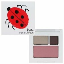 Clinique Ladybug Compact Trio Smoldering Plum Eyeshadow Blush Pink NEW Sold out