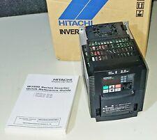 VFD HITACHI NES1-015SB 230 VAC With OPERATOR 1 PHASE INPUT 2 HP