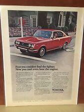 Vintage 1971 Datsun Mark II Original Magazine Ad