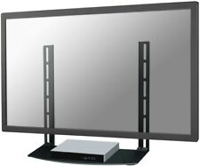 tv bracket shelf universal black glass, New Star NS-SHELF100