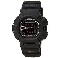 Casio Men's Watch G-Shock Mud Resistant Digital Black Dial Resin Strap G9000MS-1