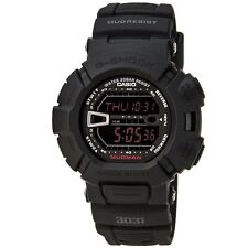 Casio Men's Watch G-Shock Mud Resistant Digital Black Dial Resin Strap G9000MS-1