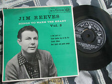 Jim Reeves – Songs To Warm The Heart Vol.2 RCA – RCX 215 UK 7inch 45 single