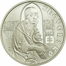 [#735116] Slovaquie, 10 Euro, 2012, Proof, FDC, Argent, KM:122
