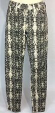 Womens GUESS 1981 Brittney Skinny Jeans Multicolors Snake Skin Pattern Pants 27