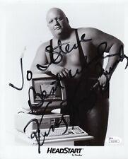 King Kong Bundy signed wrestling photo 1955-2019
