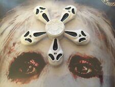 Scary Scream Skull Halloween Premium Metal Fidget Spinner Figget TOY Figit New