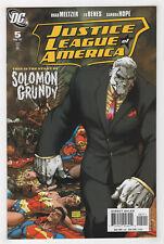 Justice League of America 5 (Feb 2007 DC) Brad Meltzer Ed Benes Michael Turner D