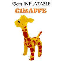 59cm INFLATABLE GIRAFFE Blow Up Inflatable Animals Party Decoration Toy Gift
