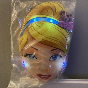 New Official Disney Princess Cinderella Light Up LED Children's Play Cushion