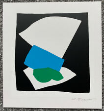 Wolf Bauer 'Collage III' Lithograph (1983) Hand Signed Print