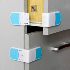 Fridge Door Double Snap Drawer Cabinet Lock Kids Protection Baby Safety