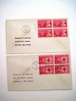 """1948 """"First Day Issue"""" Stamps for """"Moina Michael"""" & """"Clara Barton"""" *"""