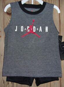 "Nike ""AIR JORDAN"" Boy's Tank & Short's (2 Piece Set as Shown) Size: 3T NWT $36"