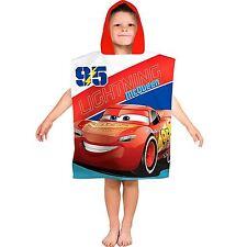 Officiel Disney Cars 3 Lightning à Capuche Poncho Serviette Enfants Garçons 100% coton