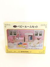 Japan Sylvanian Families (Calico Critters US) Pink Baby Room Complete in Box