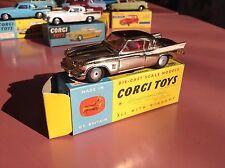Corgi Toys Ref 211S Studebaker Golden Hawk  Mint in original box Stock magasin