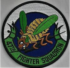 USAF 47TH FIGHTER SQ PATCH     THE ONLY TERMITES YOU WANT!            FULL COLOR