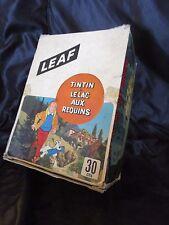 boite tintin et le lac aux requins-leaf-dargaud-1973-brabo distribution-hergé