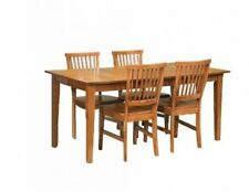 Peachy Oak Additional Leaves Dining Sets For Sale Ebay Download Free Architecture Designs Rallybritishbridgeorg