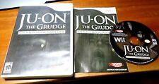 Ju-on The Grudge-simulador de casa embrujada (Nintendo Wii) juego de terror Wiiu Rara!